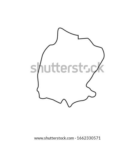 kahraman maras region map, turkey country Stok fotoğraf ©
