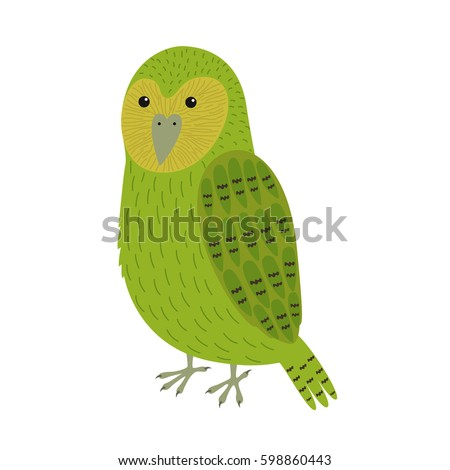kakapo bird icon