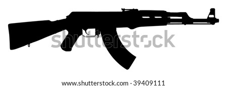 Machine Gun Icon Kalashnikov ak 47 Machine Gun