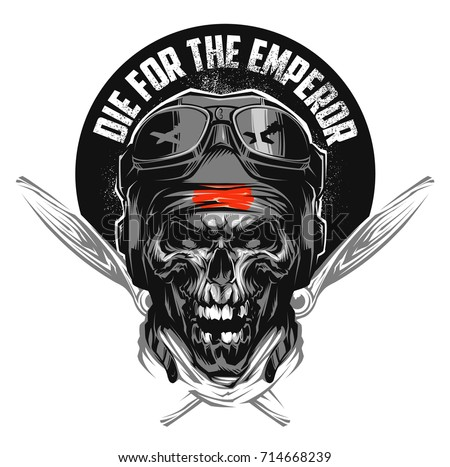 kamikaze skull