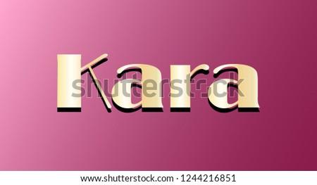 kara gold shining name