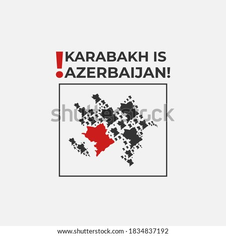Karabakh is Azerbaijan! This design for azeri people who lives in all around of world! Stop armenian terrorism!
