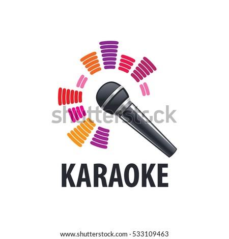 Karaoke logo,vector