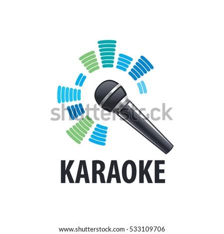 Karaoke logo, vector