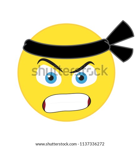 c75f8c2f951f Yellow cute egg with emotional face in glasses and bow tie #265627109 ·  Karate emoticon vector #1137336272