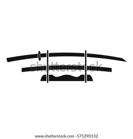 katana  japanese sword icon