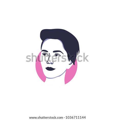 katy perry in vector