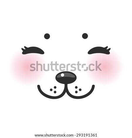 kawaii funny albino animal