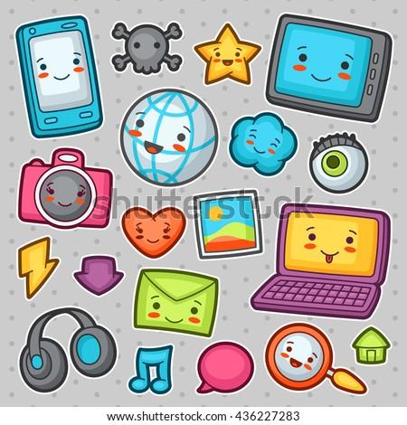 kawaii gadgets social network