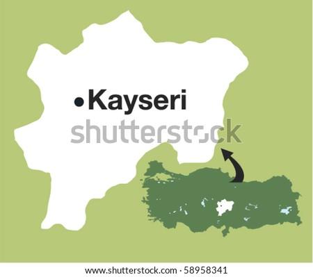 Kayseri. The cities of Turkey.