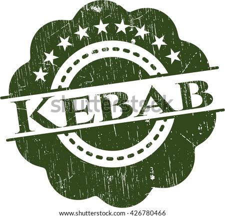 Kebab grunge seal