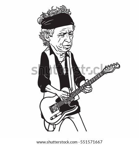 keith richards of the rolling