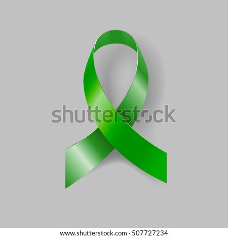 kelly green awareness ribbon