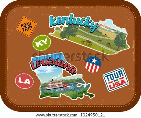 kentucky  louisiana travel...