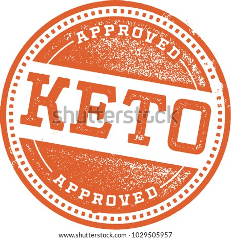 Ketogenic Diet Recipe Stamp