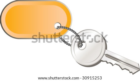 Key - stock vector