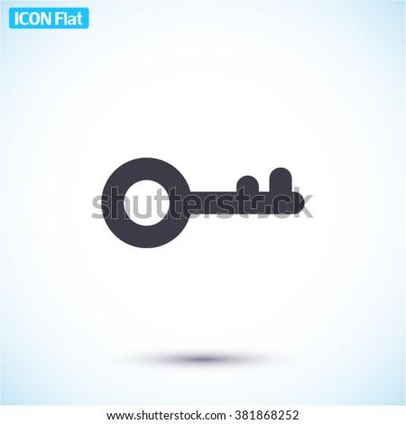 key icon  key icon flat  key