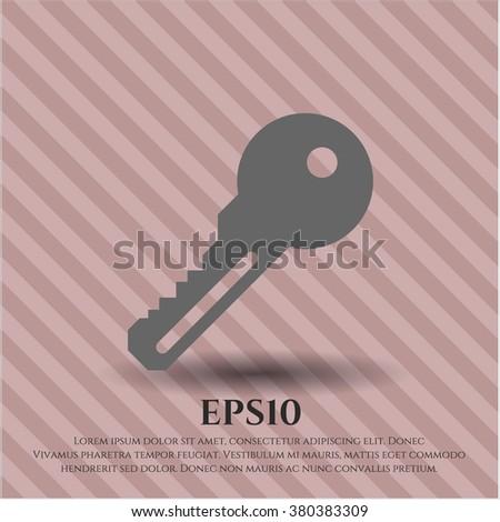 Key icon or symbol