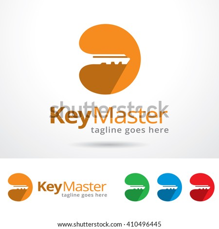 key master logo template design