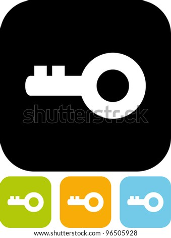 Key - Vector icon isolated