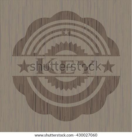 Key wood emblem