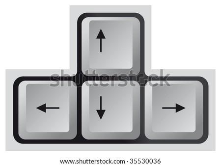 Keyboard, Arrow key