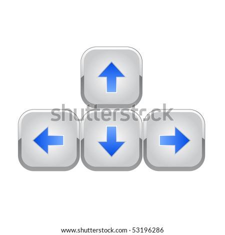 Keyboard arrows