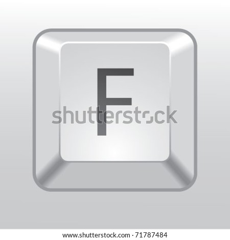 keyboard key f