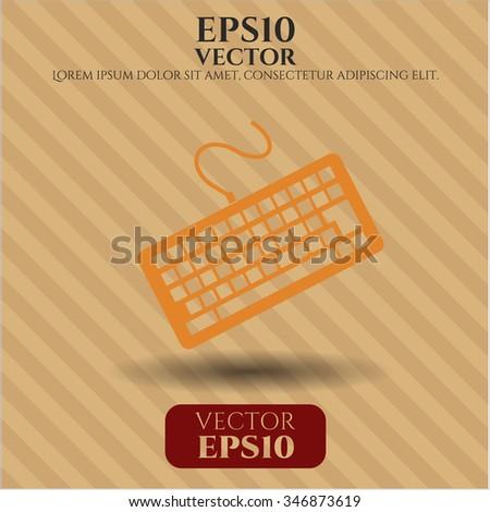 Keyboard vector icon