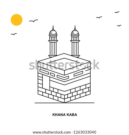 khana kaba monument world