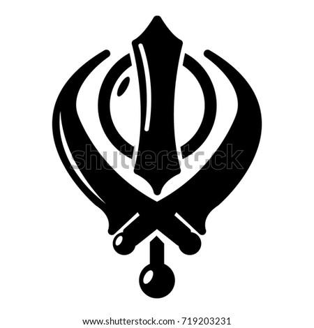 khanda symbol sikhism religion