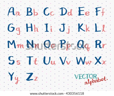 Number Names Worksheets : alphabet capital and small letters ...