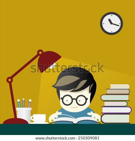 kid is reading book  in yellow