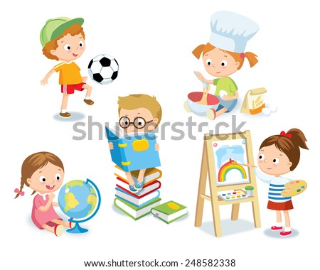 Shutterstock kid's hobbies