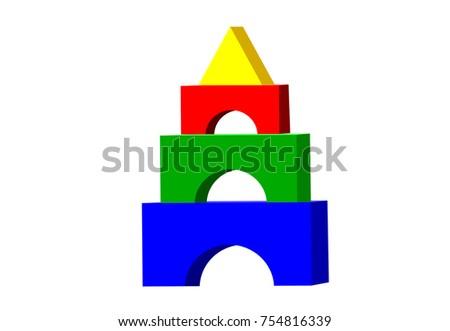 Kid toy blocks