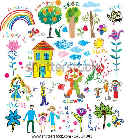 stock vector : kids