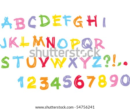 Kids alphabet Uppercase