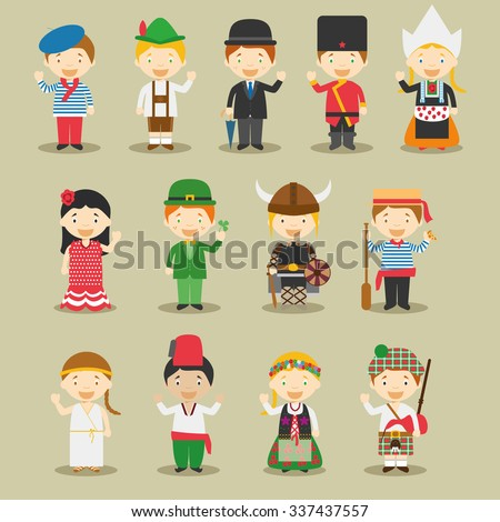 kids and nationalities of the