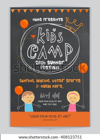 kids camp  summer festival
