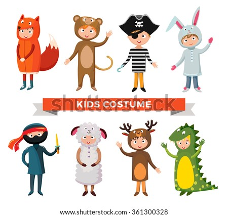 kids different costumes