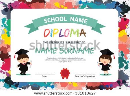 preschool graduation certificates juve cenitdelacabrera co