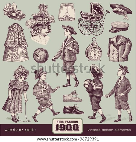 Kids' Fashion and Accessories (1900)