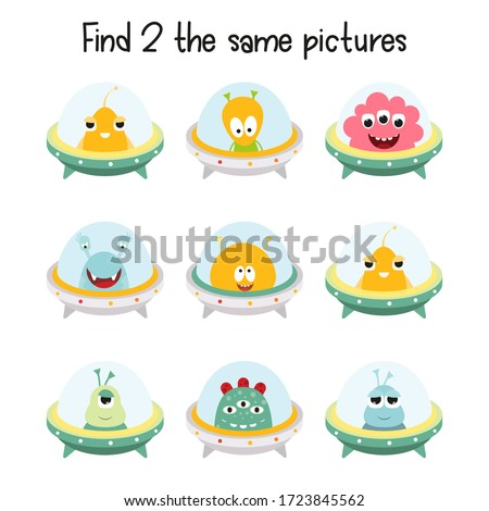 kids game   find two the same
