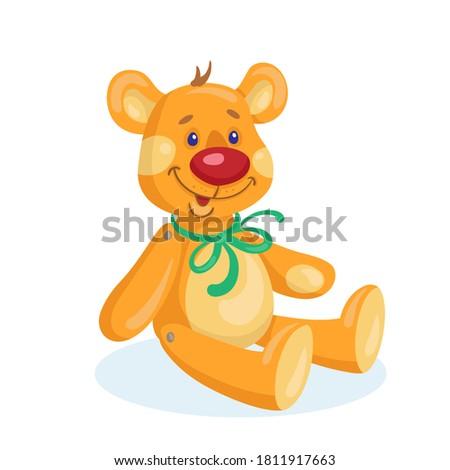 kids toys funny teddy bear in