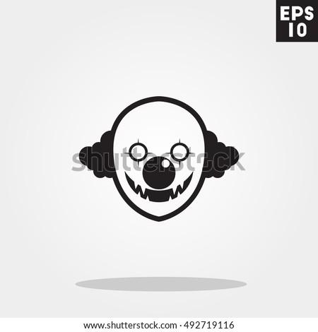 killer clown monster face