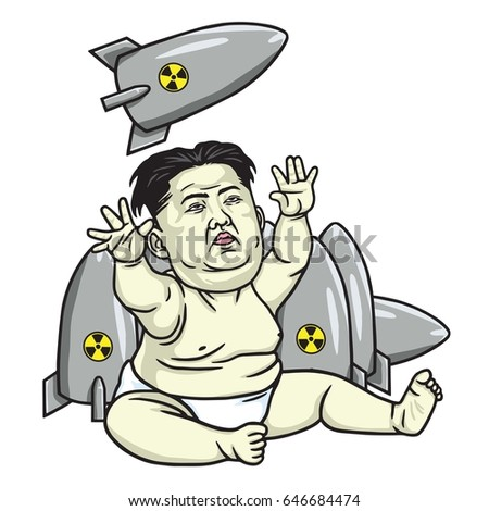 kim jong un playing missiles