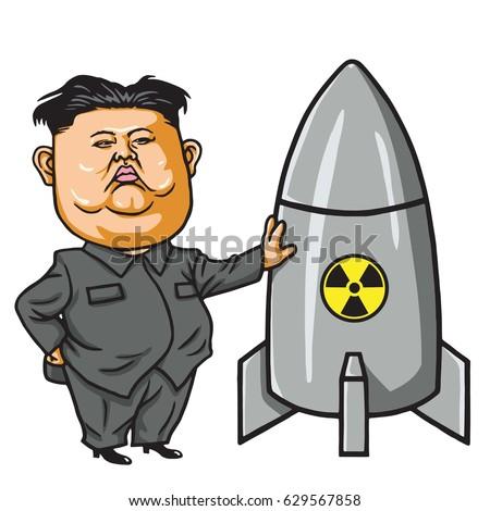kim jong un with nuclear