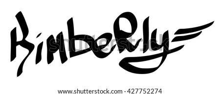 kimberly female name street art