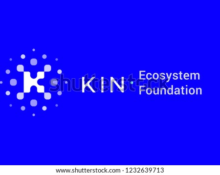 Kin Ecosystem Foundation Cryptocurrency vector icon