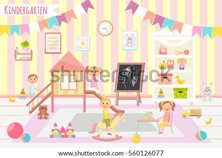 kindergarten vector